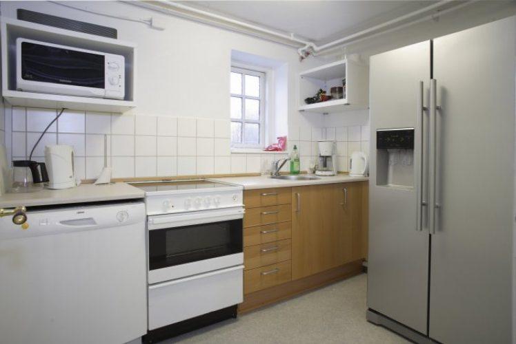 Fælleskøkken, Parterre